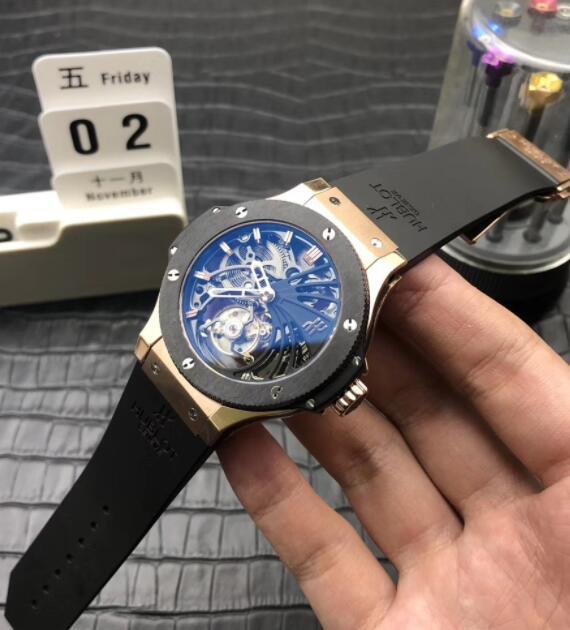 reputable site fffc1 8198b ウブロビッグバン時計機械式時計製造プロセスの最高レベルしてい ...
